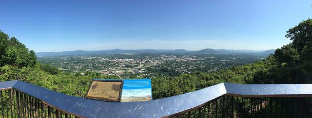 Mill Mountain Overlook