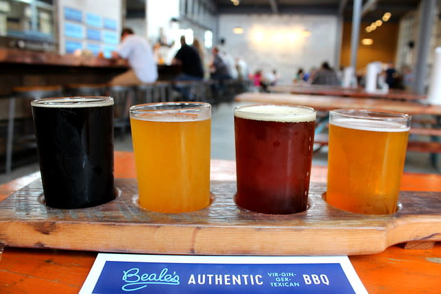 Beale's Beer Flight