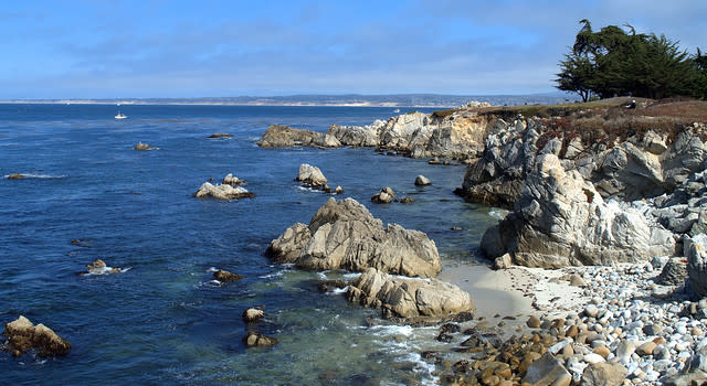 Monterey Bay - Lovers Point Park - Pacific Grove - California - 14 September 2013