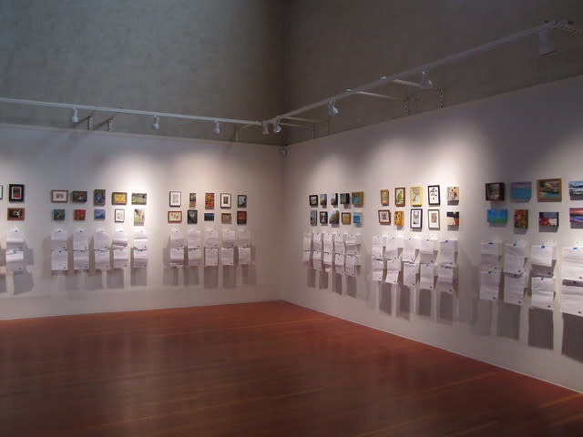 """""""Miniatures"""" 2015 at the Monterey Museum of Art"""