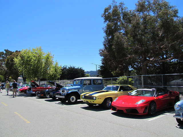 Russo & Steele Auction in Monterey