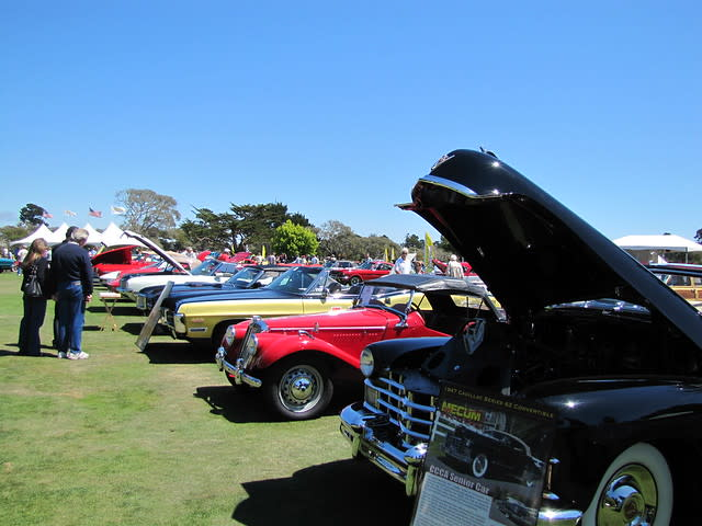 Mecum Auction at the Hyatt Regency Monterey