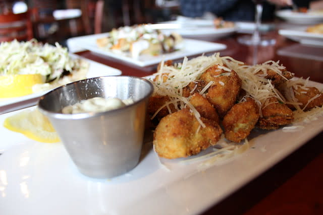 Fried Artichokes at Melville Tavern