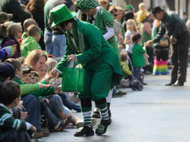 St. Patrick's Day Parade - Downtown Roanoke