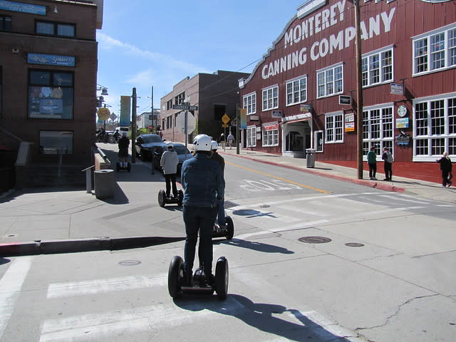 Cruise on Cannery Row during a Segway Tour Monterey