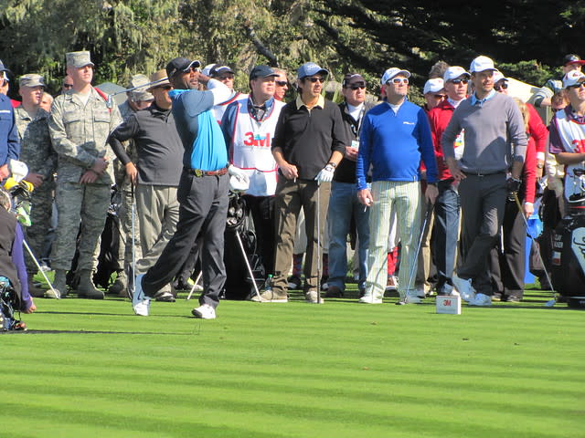 Darius Rucker at the 3M Celebrity Challenge during the AT&T Pebble Beach National Pro-Am