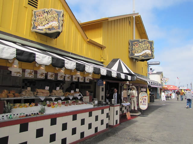Old Fisherman's Grotto on Monterey's Old Fisherman's Wharf