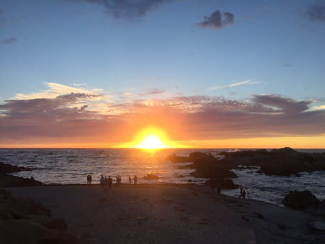Sunset at Asilomar State Beach, Pacific Grove