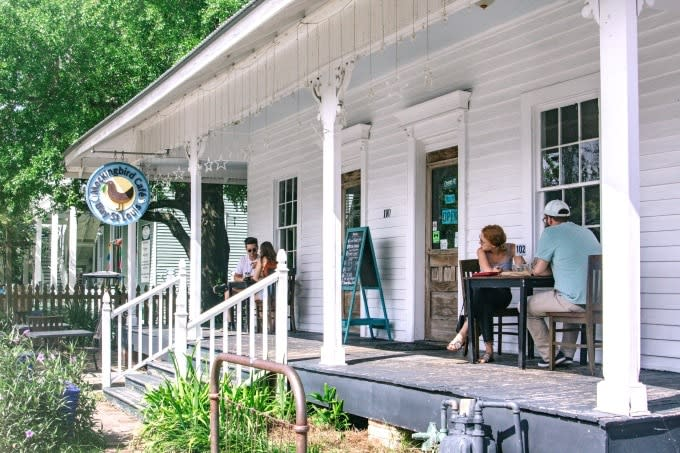 Mockingbird Cafe is one of our favorite places to eat in Coastal Mississippi
