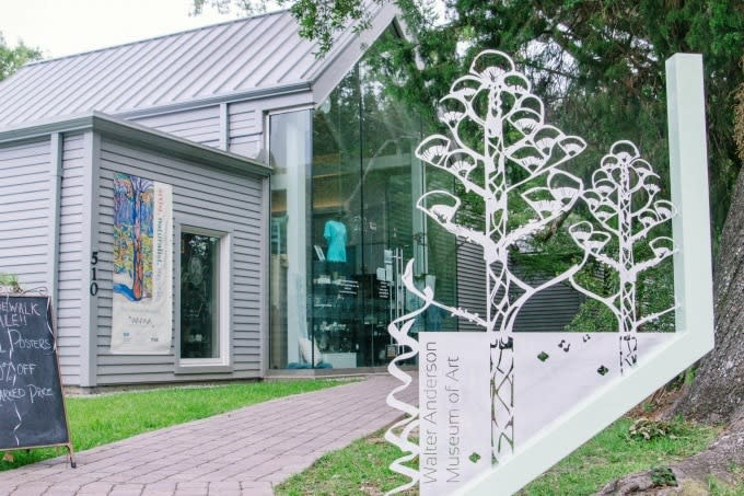 Walter Anderson Museum Of Art in Coastal Mississippi