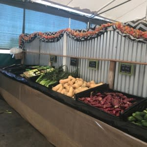 Produce Stand at Tanaka Farms