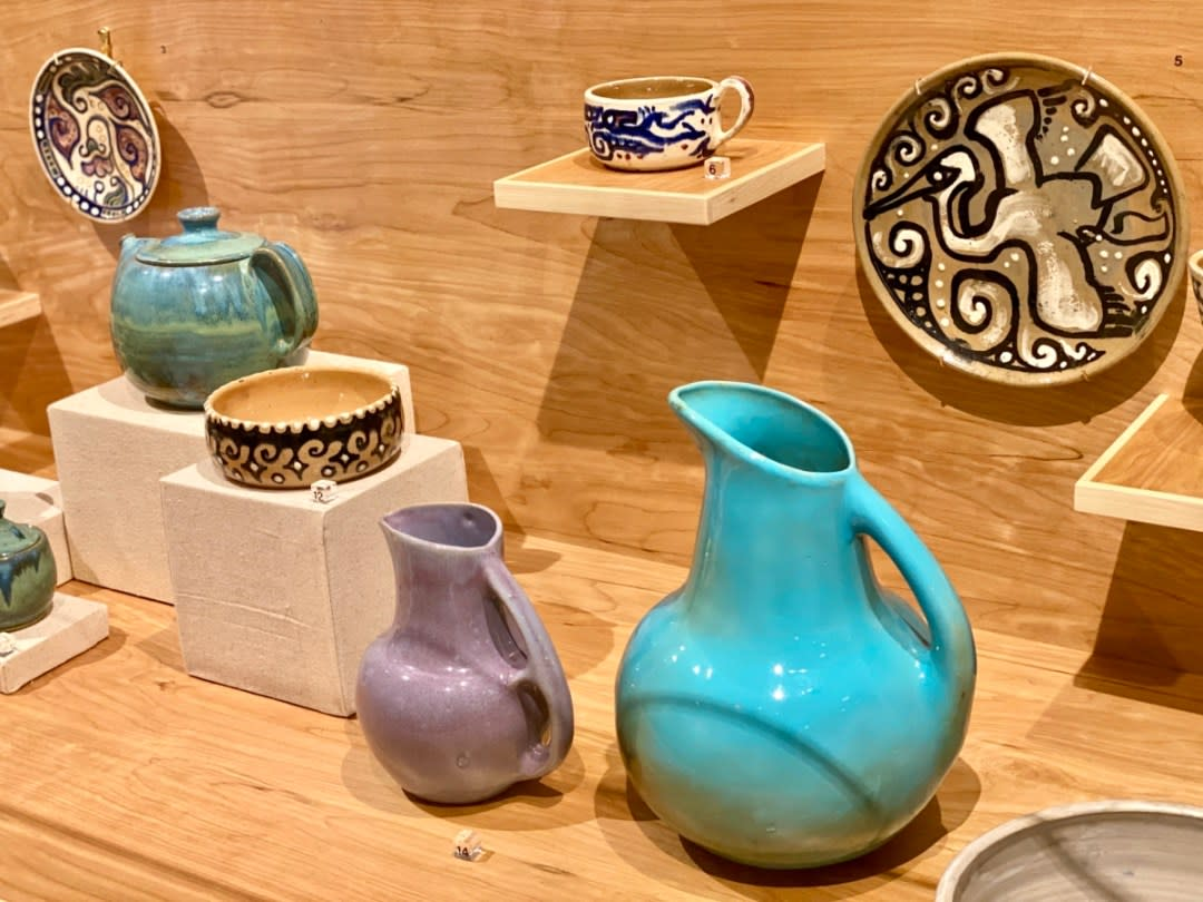 Peter Anderson pottery - Meet Three Unconventional Coastal Mississippi Artists