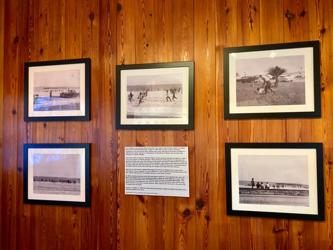 Biloxi Beach Wade in photos - Discover Coastal Mississippi's African American Heritage
