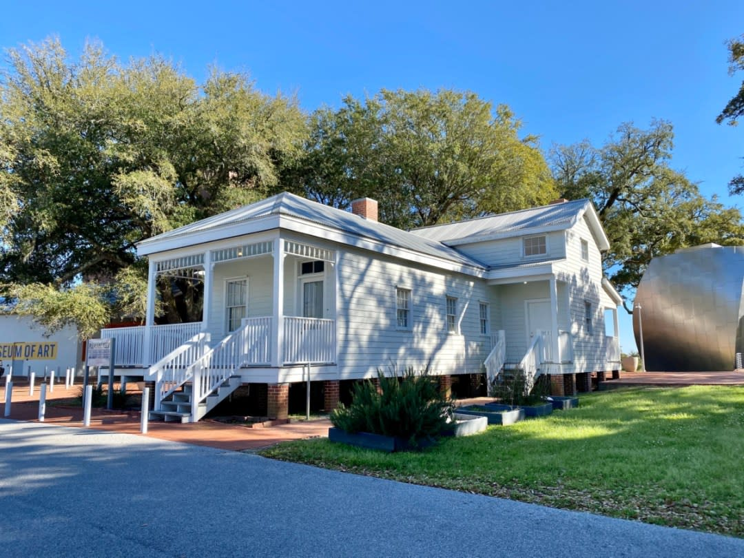 Pleasant Reed House back - Discover Coastal Mississippi's African American Heritage