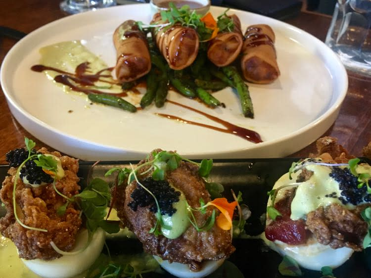 masterpieces from Chef David at 27th Avenue Bistro in Gulfport MS