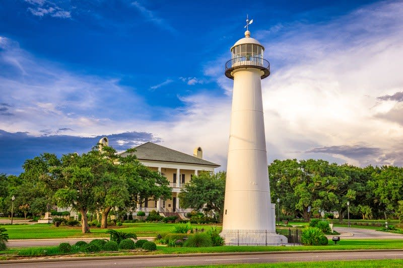 Biloxi Lighthouse in Mississippi.