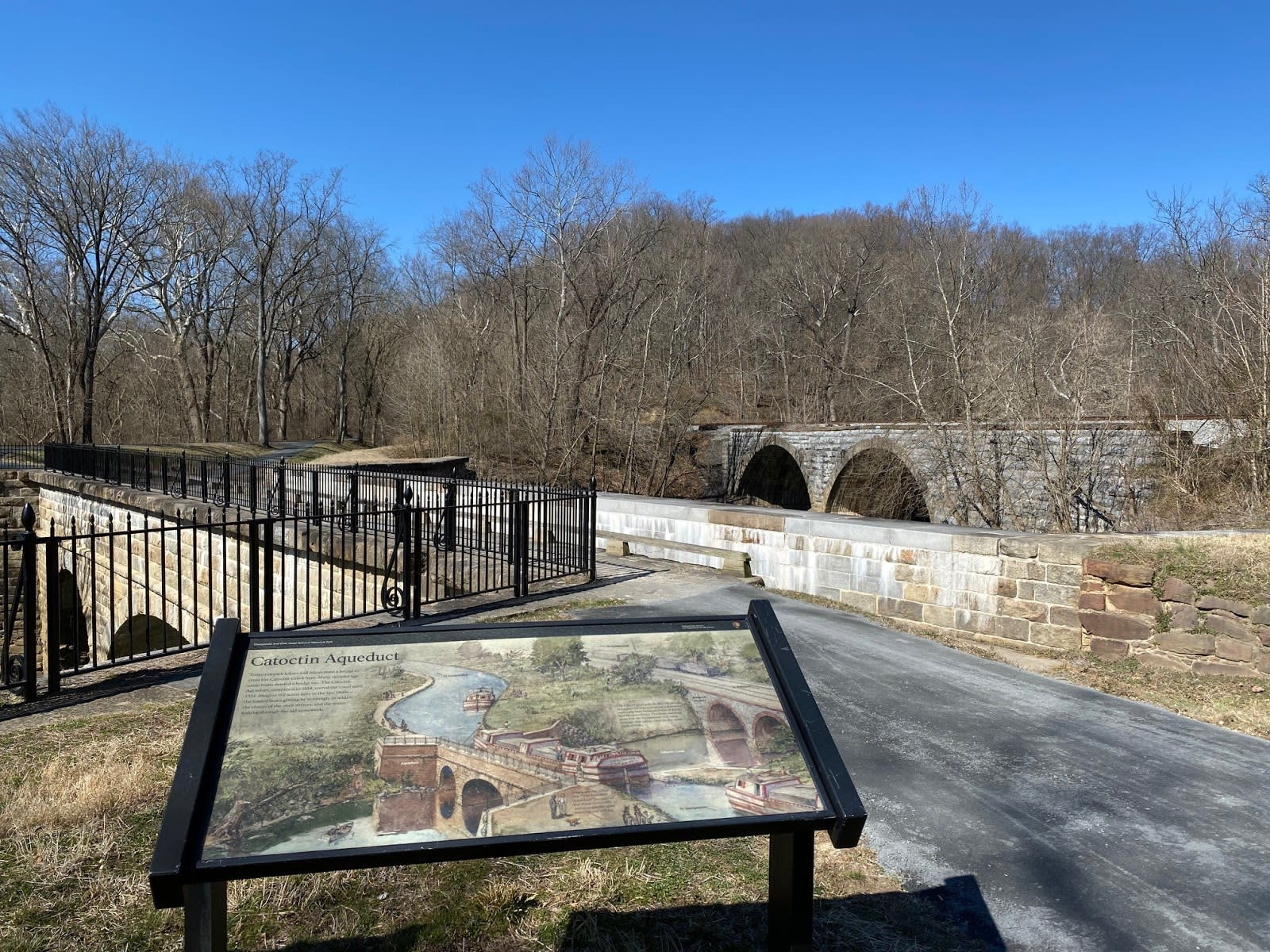 The Chesapeake and Ohio Canal Towpath