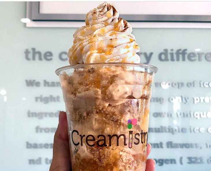 Ice Cream In Cup From Creamistry