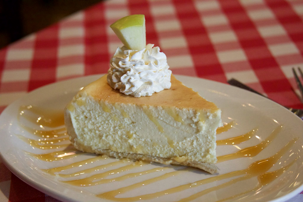 Caramel Apple Cheesecake From Grimaldi's In Irving, TX