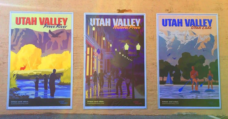 Murals in Downtown Provo
