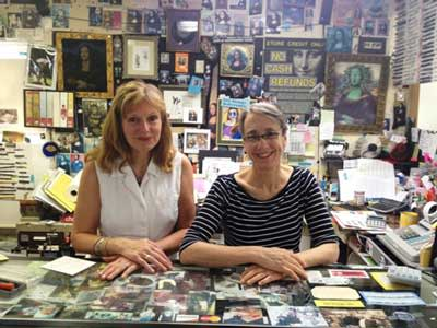 From left: Kim Eshleman, store manager, and Laurie Nolan, owner of Art Things.