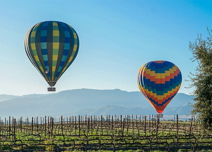 Most beautiful places in ca Temecula Valley