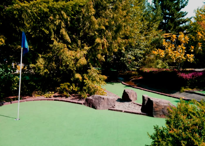 Seattle area Miniature Golf at Interbay Golf Center in Seattle