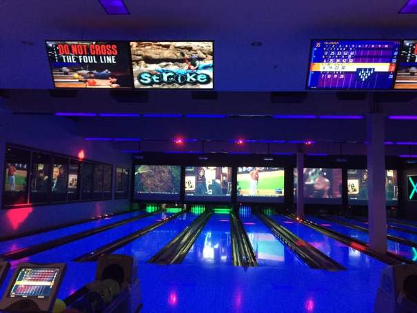 Round 1 Bowling & Amusement at Southcenter Mall for family fun