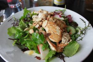 Roots Cafe Seasonal Salad