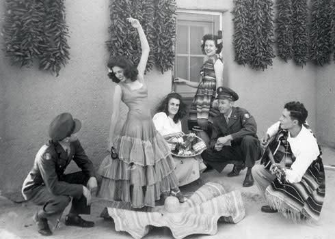 Flamenco Betty Sena Cardenas USO 1947