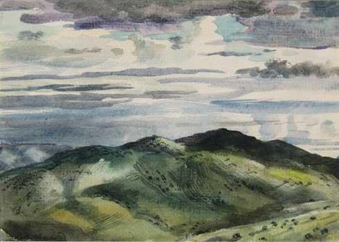 Hurd Clouds In Summer