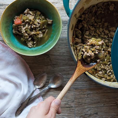 TNM Hatch Chile Green Chile Stew