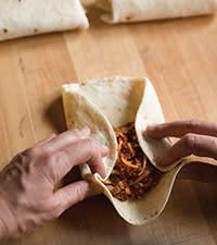 Burrito -fold