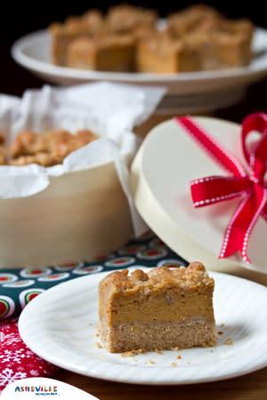 Creamy Pumpkin Pie Bars | ExploreAsheville.com