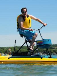 Waterbiking Canandaigua Lake, Finger Lakes