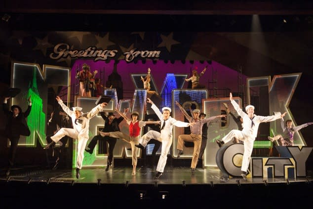 On the Town at the Finger Lakes Musical Theatre Festival