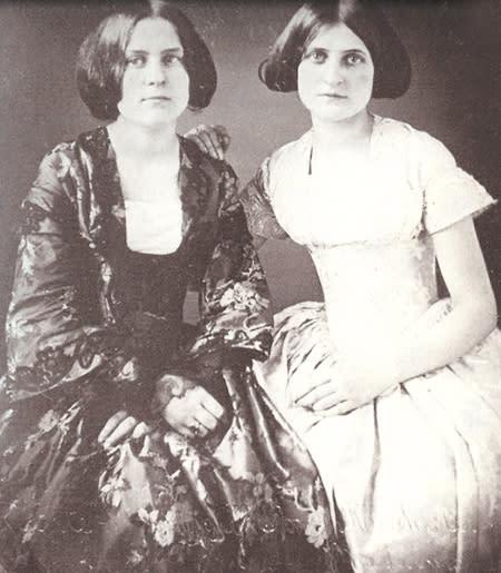 Margaretta and Catherine Fox