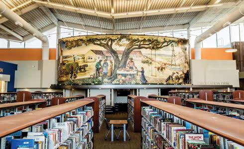 Artesia Library Mural