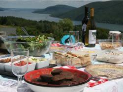 Finger Lakes picnic