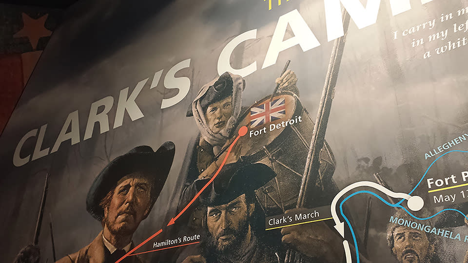 Clark Camp exhibition 1
