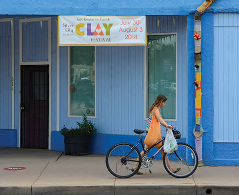 Clay Festival Bike Art