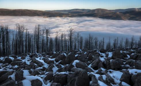 Valleys Of The Caldera Gordon