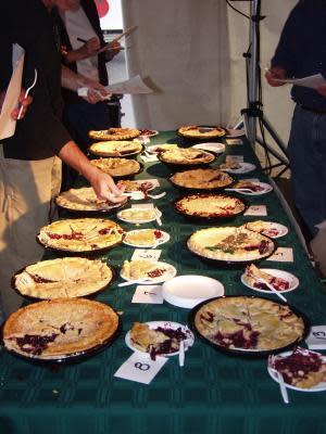 Finger Lakes grape pies