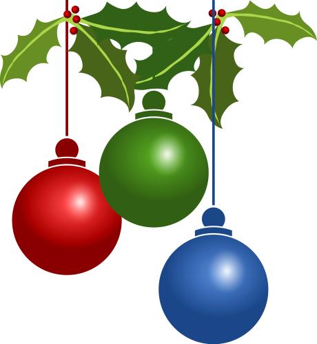 Christmas tree decorations large