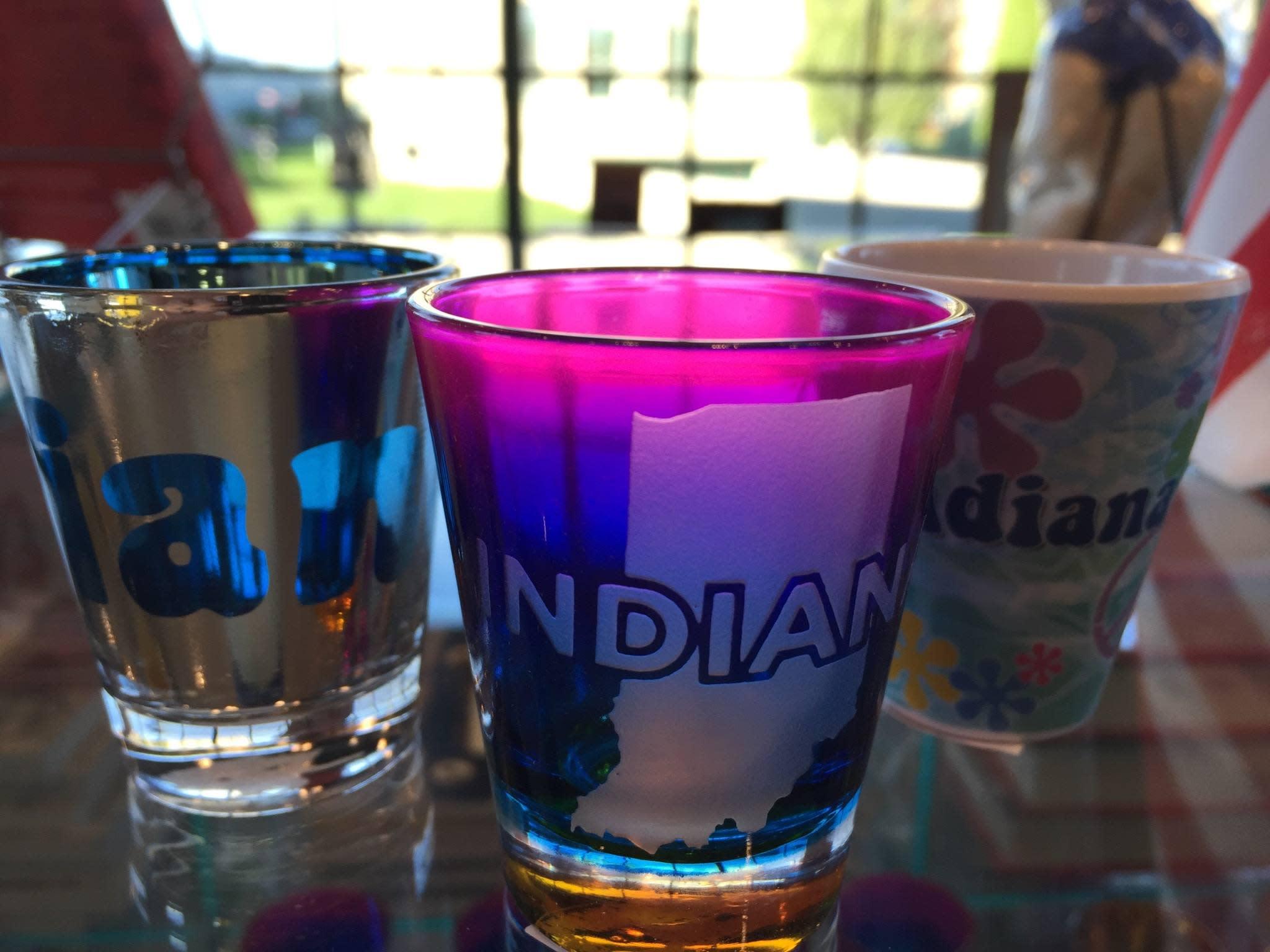 shot glasses fb