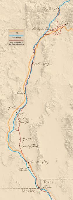 El Camino Map