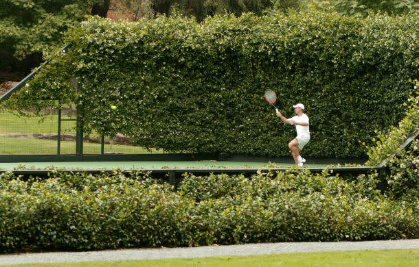 Tennis in Napa Valley