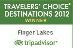 TripAdvisor Wine Destination Award Finger Lakes