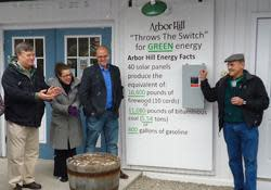 Arbor Hill Goes Green