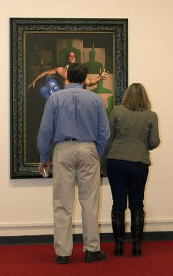 First Friday at the Schweinfurth Art Center